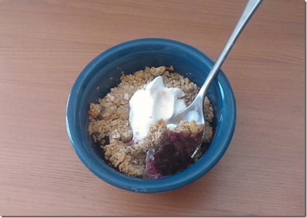 IMAG1896 800x450 thumb Clean Eating Berry Crisp Recipe