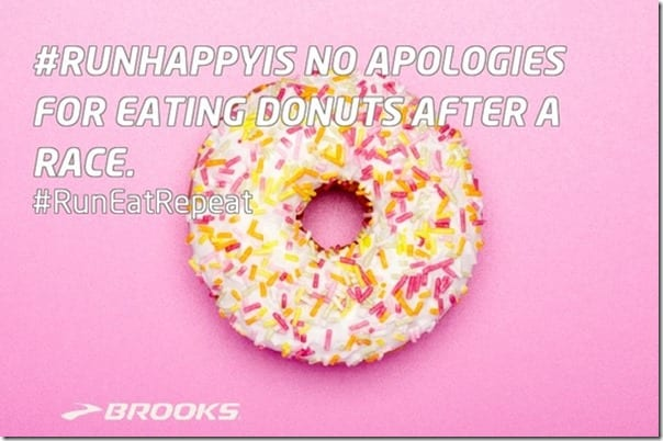run happy is eating donuts thumb Motivation Monday– Run Happy Is