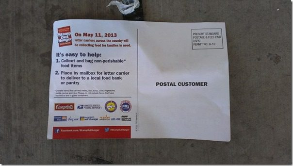 IMAG3086 800x450 thumb Silent Saturday #StampOutHunger