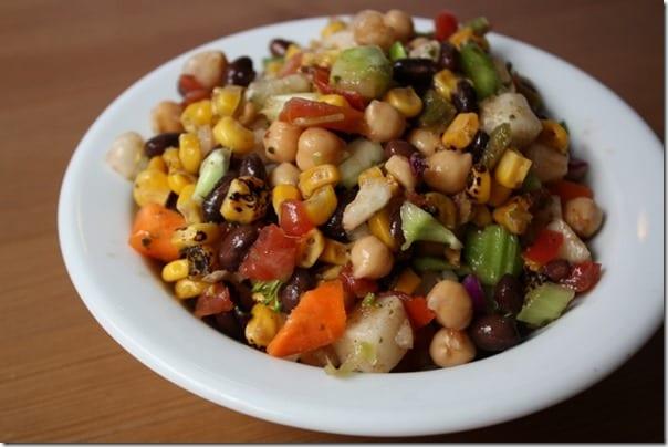 IMG 2183 800x533 thumb Confetti Salad Recipe – Black Bean and Corn