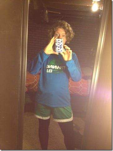 mary leggings under shorts 480x640 thumb Running Fashion Don'ts   Brooks Running Gear Makeover