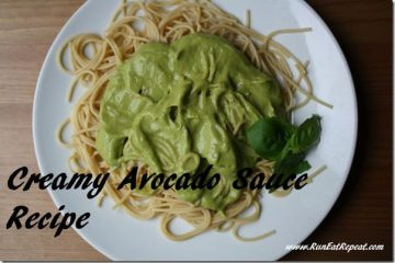 Creamy Avocado Sauce Pasta Recipe