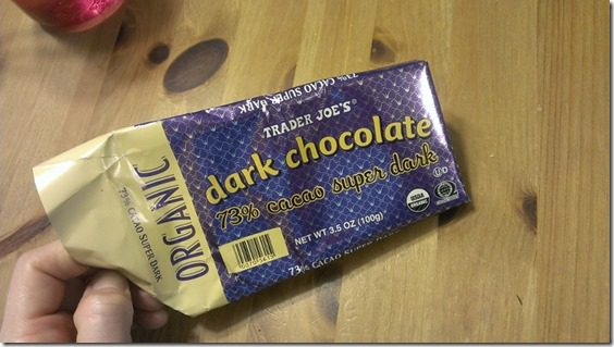 dark chocoalte 450x800 thumb No Running, Just Eating