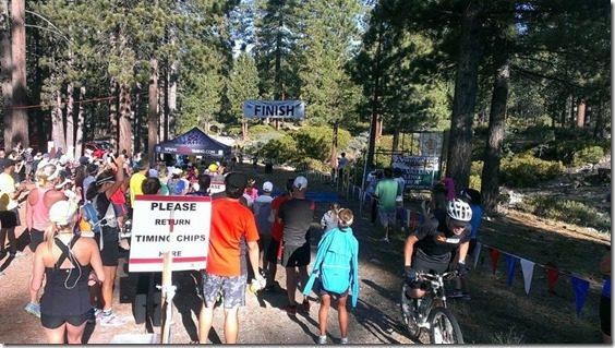 xterra half marathon finish line 800x450 thumb Xterra Snow Valley Trail 21K Race Recap