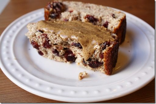 IMG 3021 800x533 thumb Cranberry Protein Bread Recipe