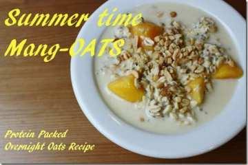 Overnight Mango-Oats Recipe
