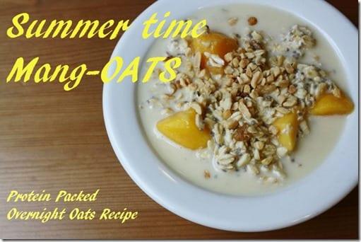 Overnight Mang oats recipe thumb Overnight Mango Oats Recipe