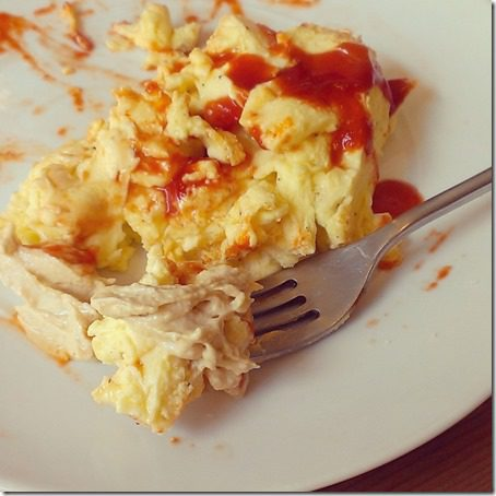 hummus on eggs 800x800 thumb Mexican Feast and Motivation Monday
