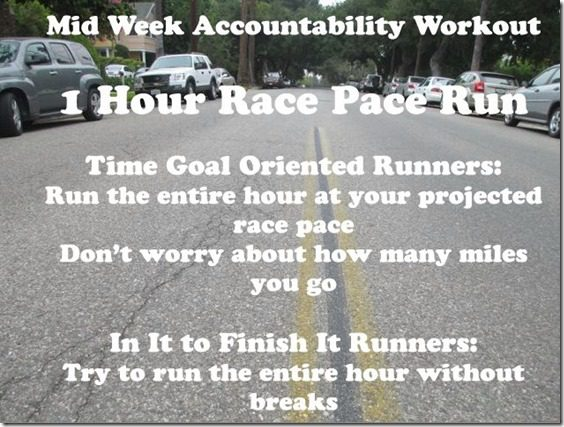 mid week run new york city marathon training thumb Mid Week Run and a Giveaway