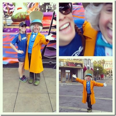 run disney half marathon meetup with mad hatter 800x800 thumb Disneyland Half Marathon Tweet Up Meet Up
