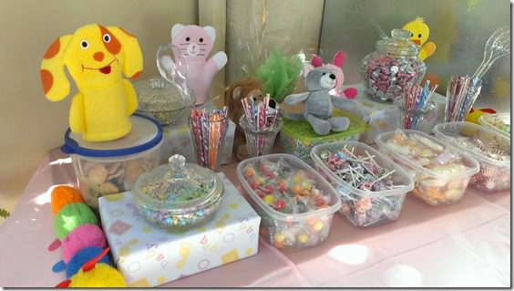 baby shower candy table 800x450 thumb Animal Baby Shower