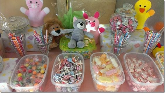 cany table 800x450 thumb Animal Baby Shower