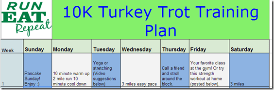 image thumb16 Turkey Trot Training Program
