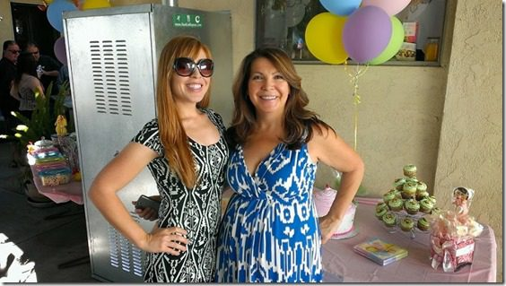 me and my mom at the baby shower 800x450 thumb Animal Baby Shower