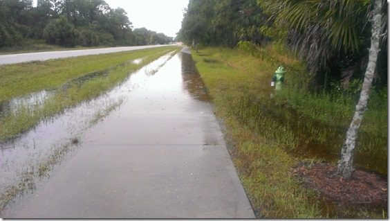 rainy florida sidewalk 800x450 thumb Running Zig Zag