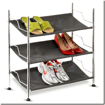 shoe organizer for bottom of closet thumb GIVEAWAY   Organize Your Workout Gear