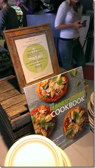 runners world cookbook 287x510 thumb Running with Bart Yasso and Meeting Summer Sanders