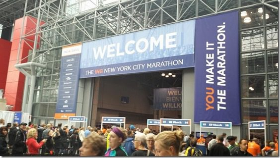 new york city marathon expo 800x450 thumb New York City Marathon Expo