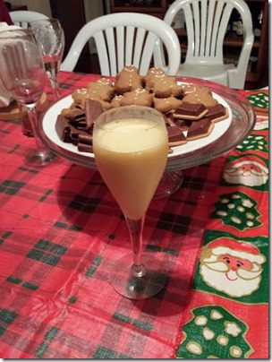 eggnog and christmas cookies 376x501 thumb Santa Dog and 25 Days of Fitness Day 23