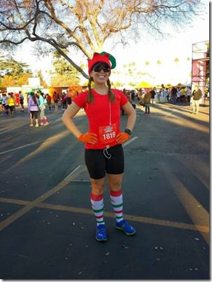 pre race holiday half marathon 408x544 thumb Holiday Half Marathon Results and Recap