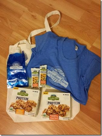 cascadian farm prize pack blogger giveaway 376x502 thumb Cascadian Farm Protein Bar Giveaway