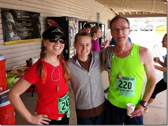charlotte and dad from new zealand after marathon 669x502 thumb Buzz Marathon in San Miguel, CA
