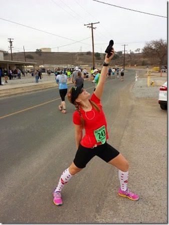 new running pose half marathon 376x502 thumb Buzz Marathon in San Miguel, CA
