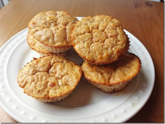 protein banana muffins 669x502 thumb What I'm Eating Wednesday National Drink Wine Day