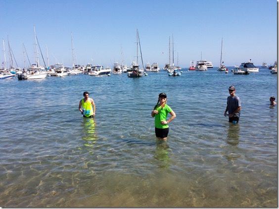 catalina marathon pacific ocean ice bath 800x600 thumb Catalina Marathon Results and Recap
