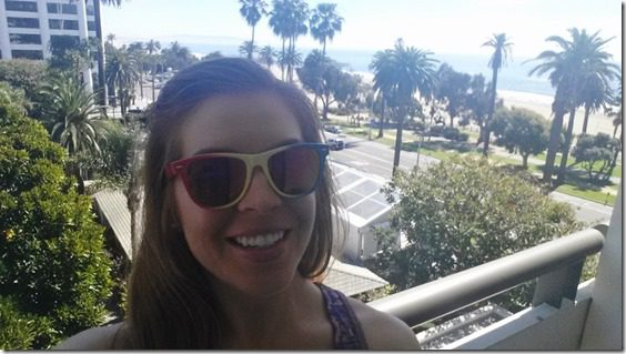 hello from fairmont miramar hotel 800x450 thumb LA Marathon Outtakes and Asics Giveaway Winners