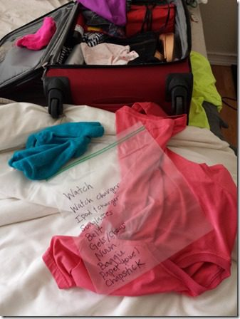 quick tip for marathon packing 600x800 thumb Quick Tip: MUST HAVE Race Day Travel Bag