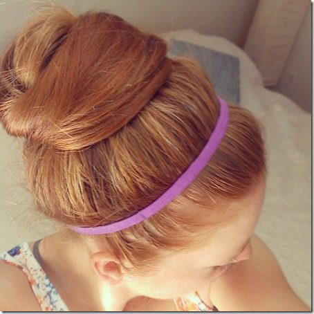 red hair bun 800x800 thumb Tips For Running in HOT Weather