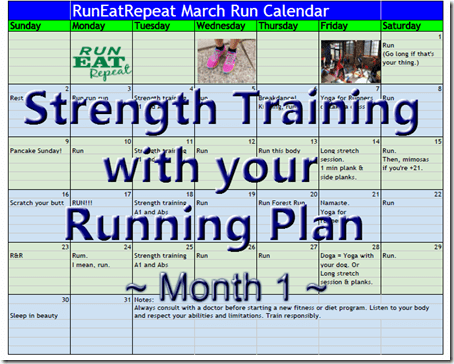 strength training for runners plan1 Roadtrip Fail