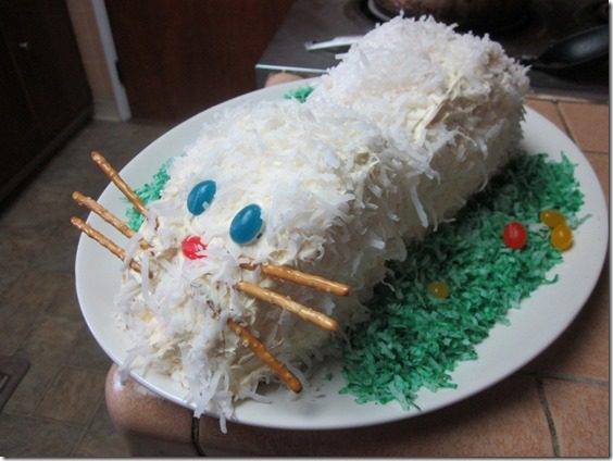 how to make a bunny cake thumb Meatless Monday–How to Make a Bunny Cake and Running in Orange County