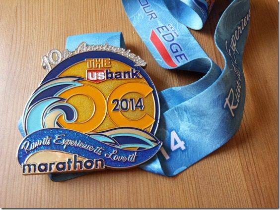 oc marathon results medal 800x600 thumb OC Marathon Results and Recap and Tequila