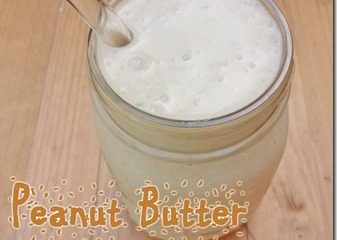 Peanut Butter Protein Smoothie–without Protein Powder