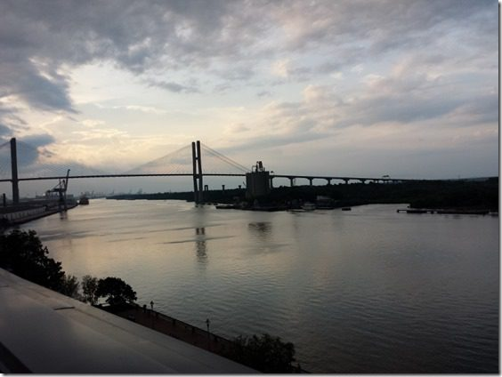 view from top deck savannah travel blog 1 800x600 thumb Saturday at Fitbloggin in Seven Points…