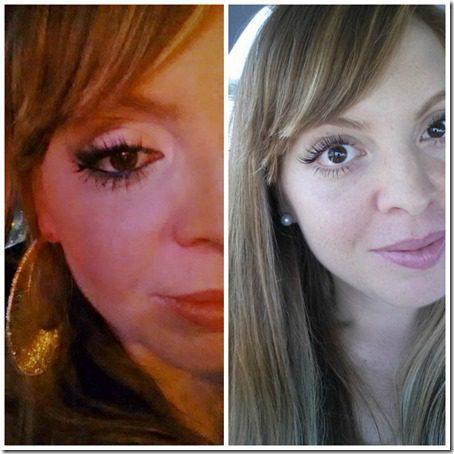 Eyelashes with eyeliner  thumb Eyelash Dip Update–Would I do it again?