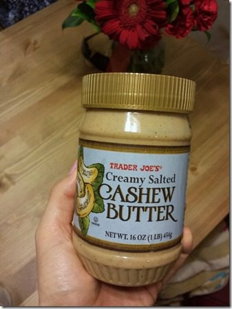 cashew butter trader joes 600x800 thumb1 The Best Thing I Didnt Eat This Weekend