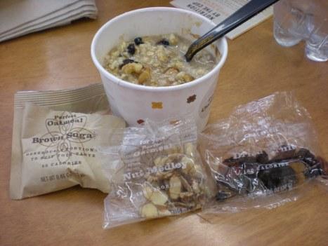 foodies 746 Starbucks Oatmeal Review