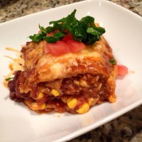 Mexican pizza casserole recipe