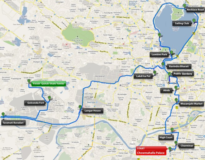 Hyderabad_Heritage_Marathon_coursemap