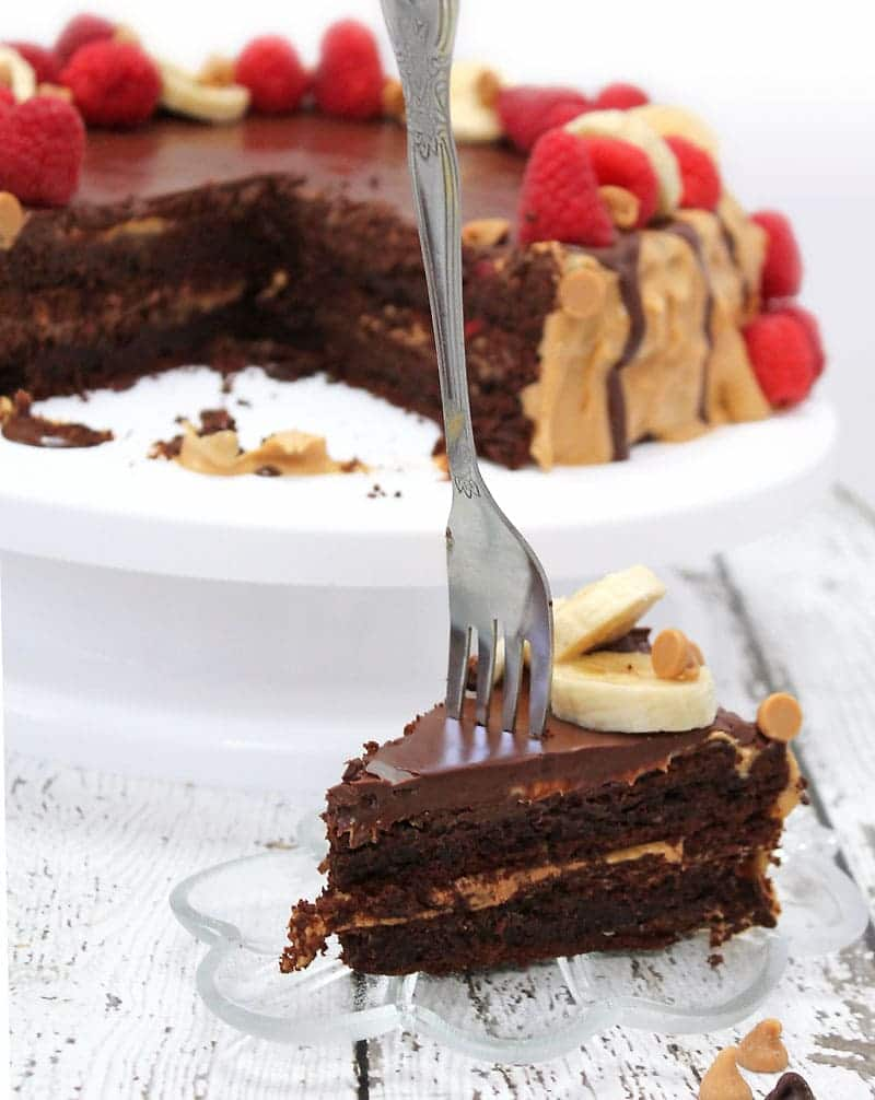 Chocolate-PeanutButter-Layer-Cake