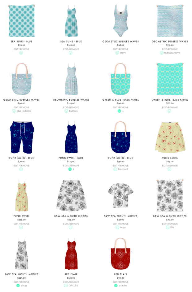 RunnyCustard Designs on Clothing & Accessories PAOM