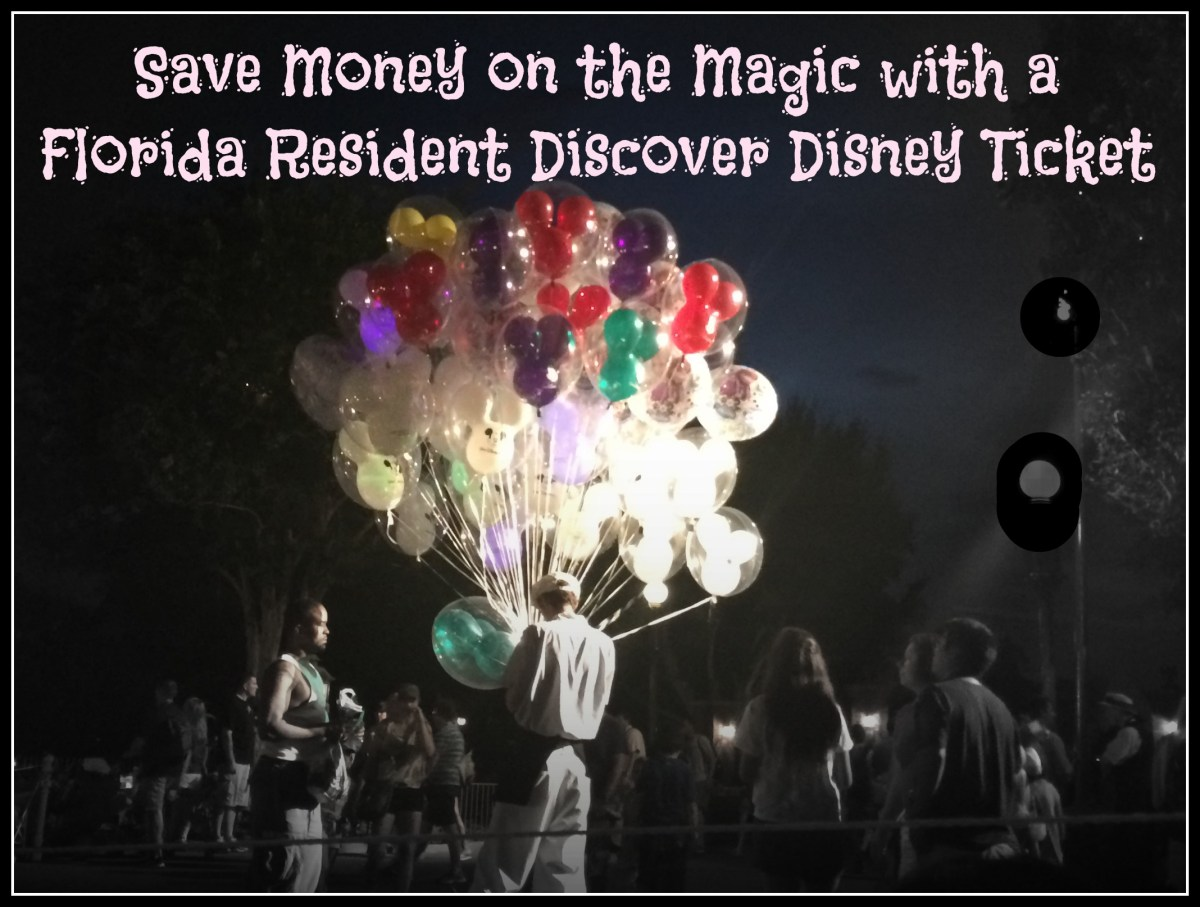 Florida Resident 3-Day Discover Disney Ticket Discount on Walt Disney World Resort Tickets