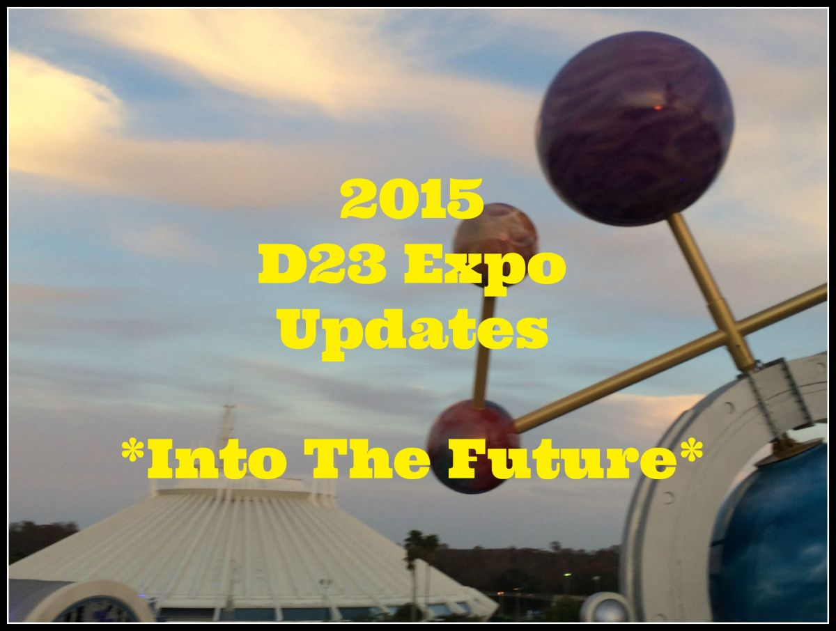 Disney 2020 Updates from 2015 D23 Expo