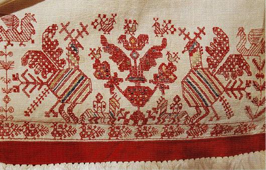 Вышивка русская народная картинки