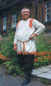 Мужской костюм Коротоякского уезда