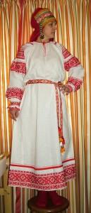 Рубаха вид спереди.  Мастерица  Екатерина Блинникова г. Владивосток.