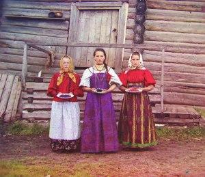 Одежда крестьян Вологодского уезда